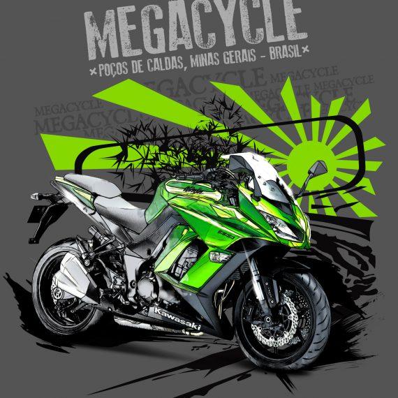 Camisetas Megacycle