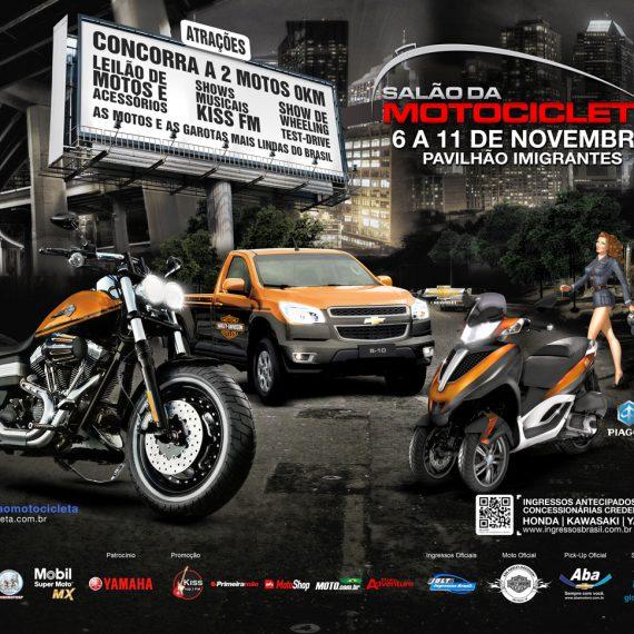 Identidade visual Salão da Motocicleta